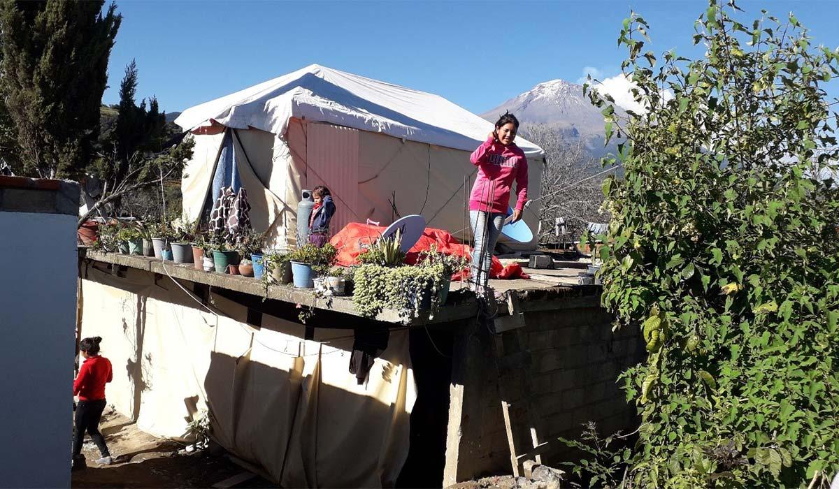 Meeting Families in Tecuinapa
