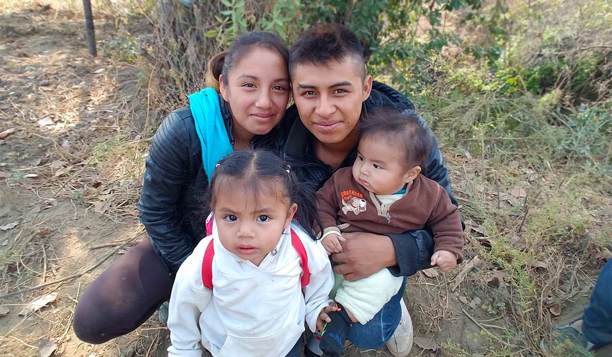 Diego and Lizbeth Family