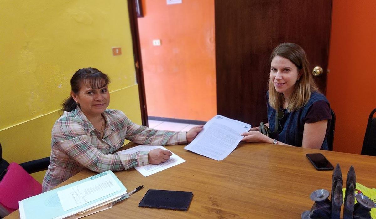 Notarizing Land Deeds for 10 Tecuanipa Families