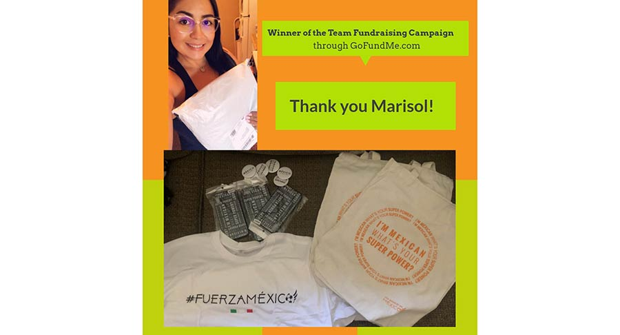 Marisol Winner – Team Fundraising