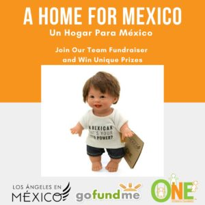 A Home for Mexico doll prize